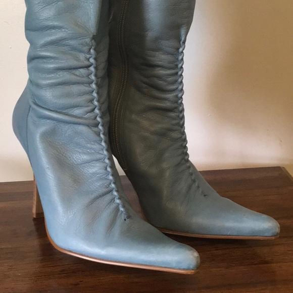 5e263965d76 Steve Madden Leather Boots. Style Teaze Size 7.5